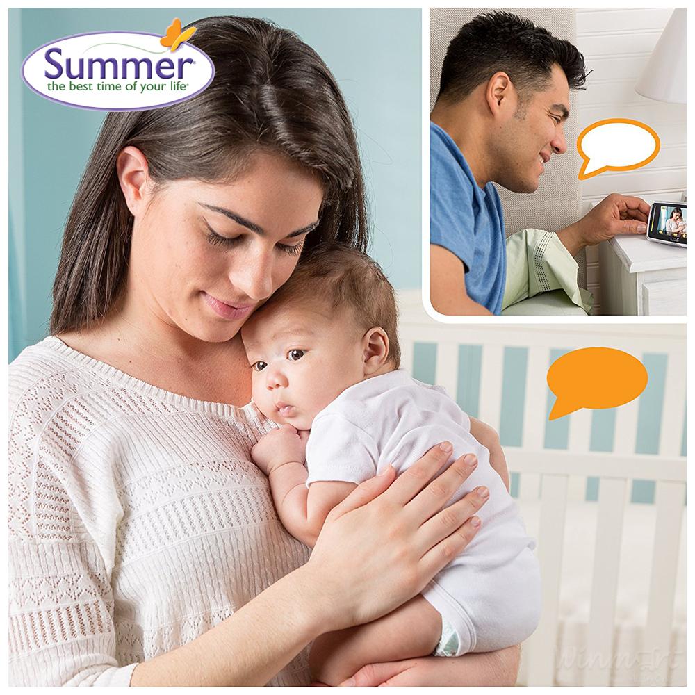 Camera báo động khi bé khóc Baby Touch Plus SM28620