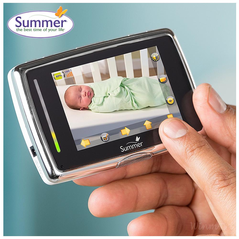 Camera báo động khi bé khóc Baby Touch Plus hàng chính hãng Summer Infant