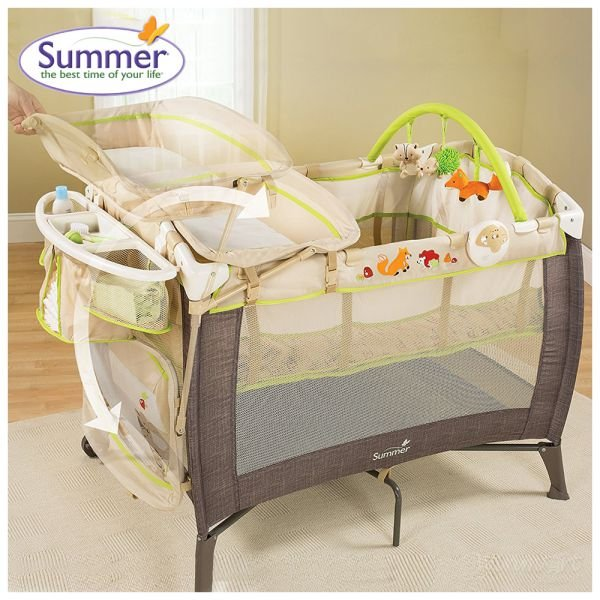 Giường cũi Summer Fox & Friends playard