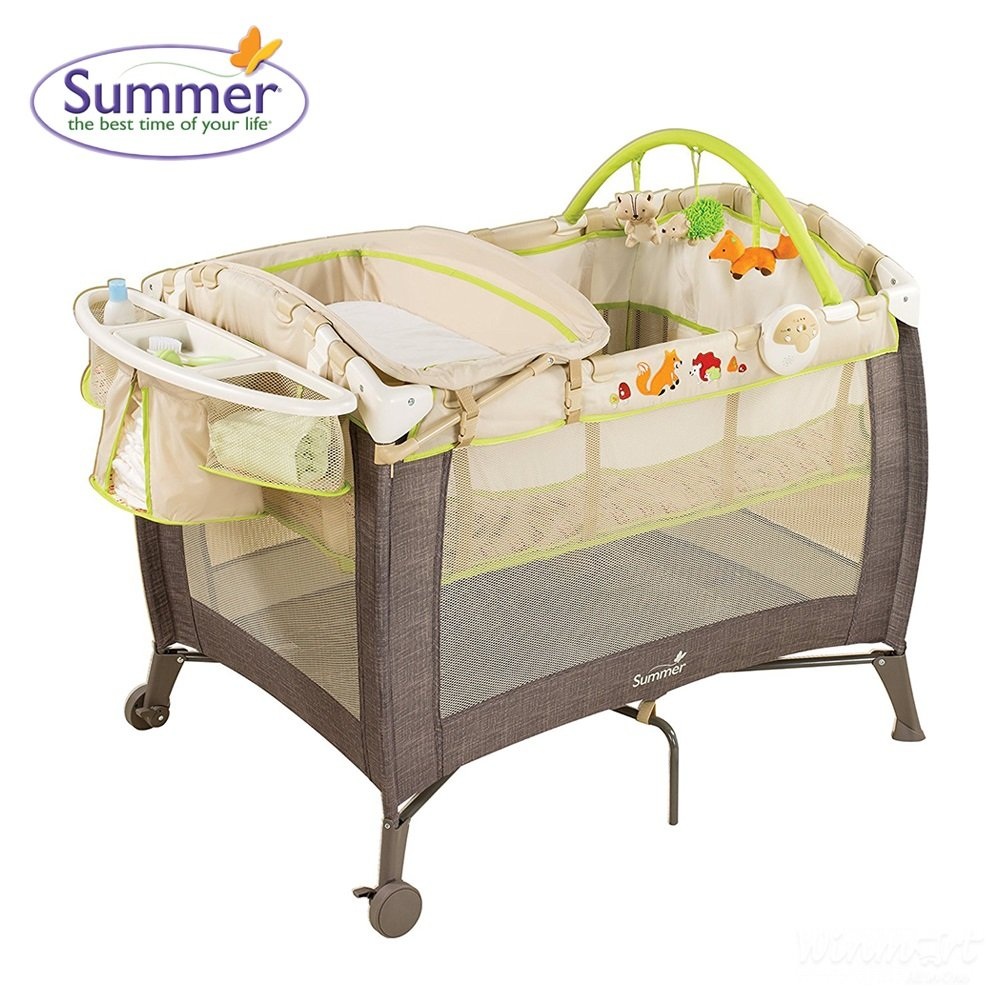 Giường cũi Summer Fox & Friends playard SM22243