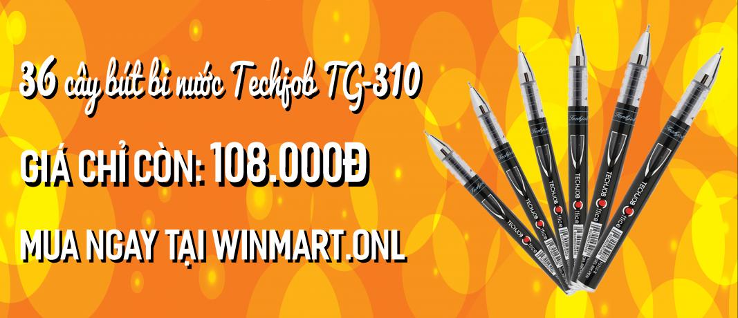 36 Cây bút bi nước Techjob TG-310