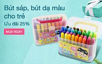 Bút sáp, bút dạ màu