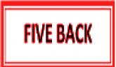 Five Back
