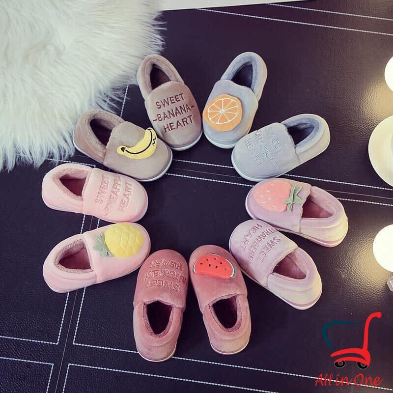 Giày Hoa Quả Nhiều Màu Sắc Cho Bé Yêu Winmart